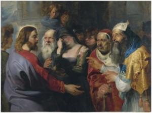 Ježíš a cizoložnice