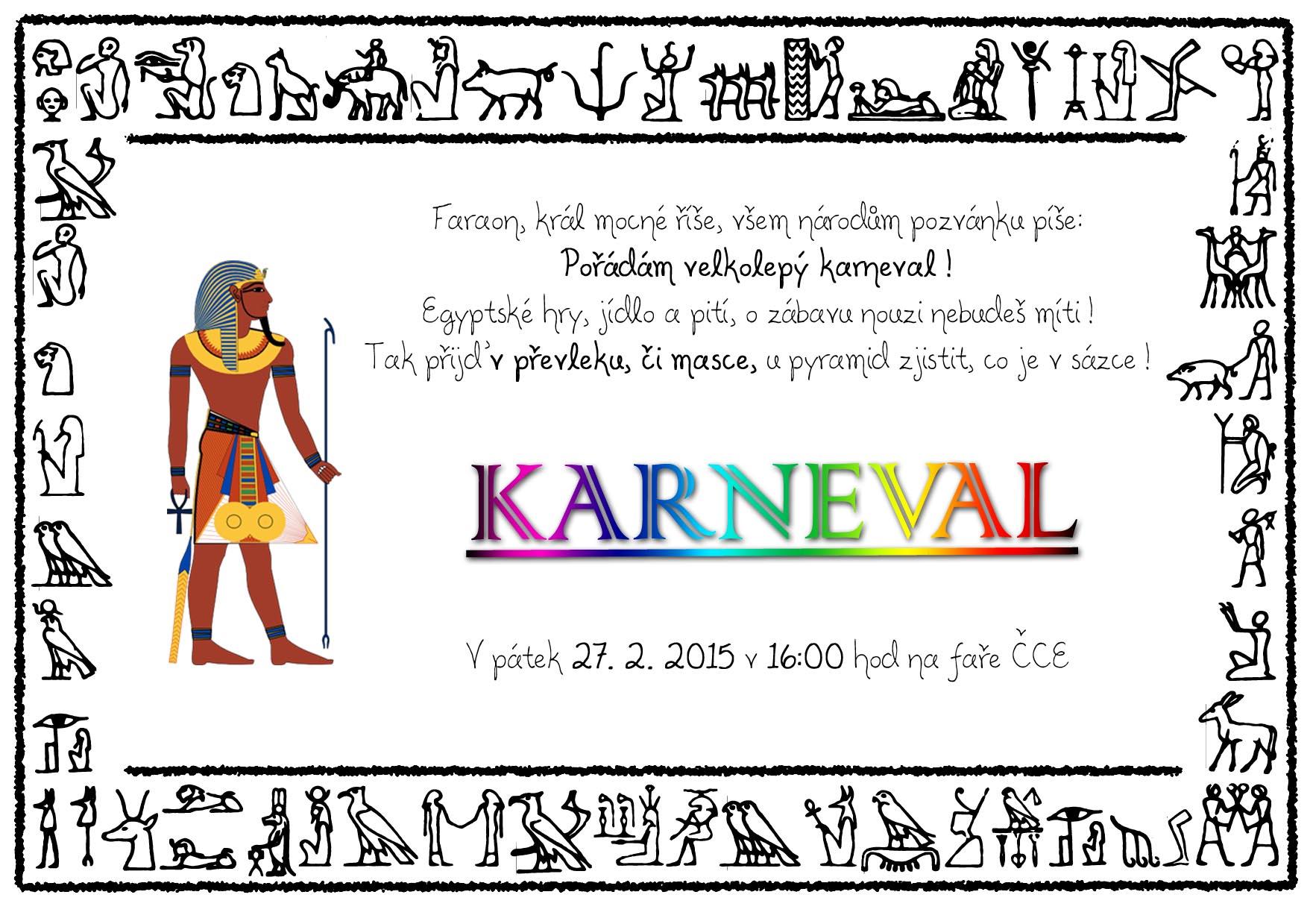 pozvanka karneval 2015